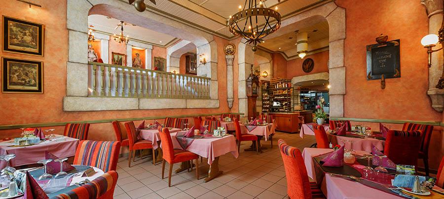H tel de la s re restaurant comte godefroy restaurant for Maison du luxembourg restaurant
